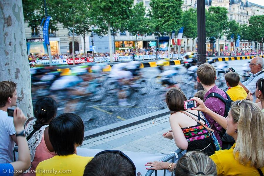 Where to watch the Tour de France along the Champs Elysées