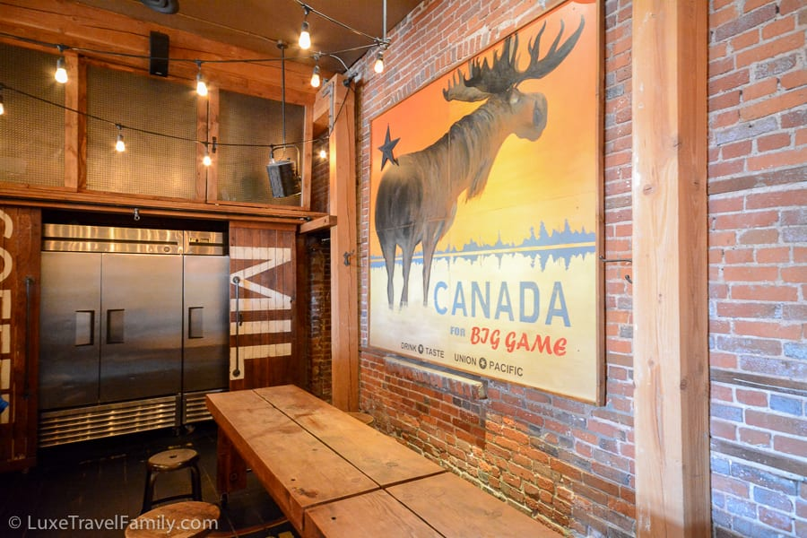 A post Canada for Big Game at Union Pacific Coffee Victoria, B.C.