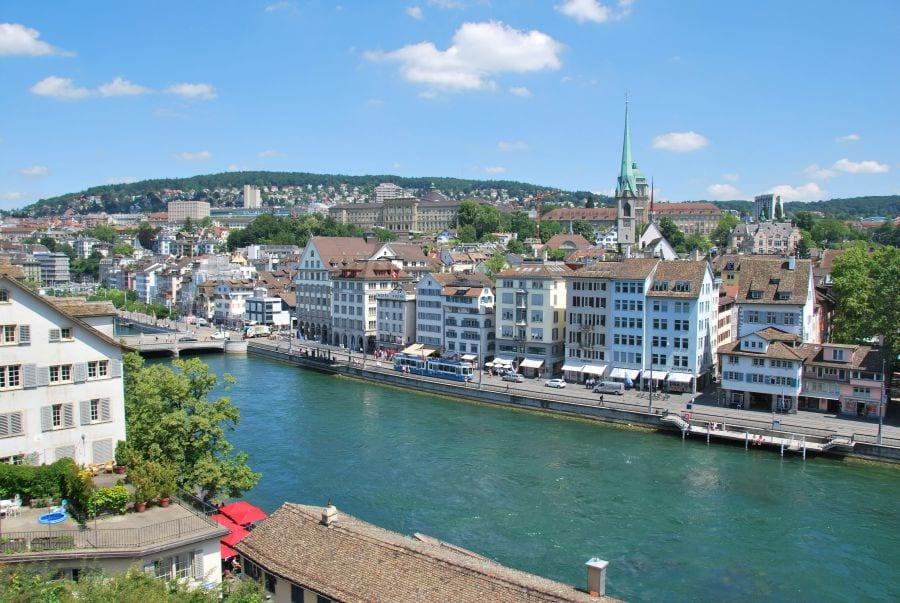 Limmet River Zurich
