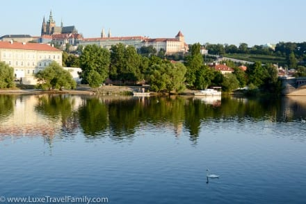 Beautiful views from Four Seasons Hotel Prague