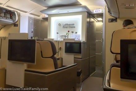 Lufthansa A330-300 First Class cabin