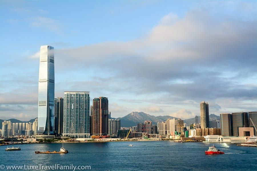 Victoria Harbour Four Seasons Hong Kong