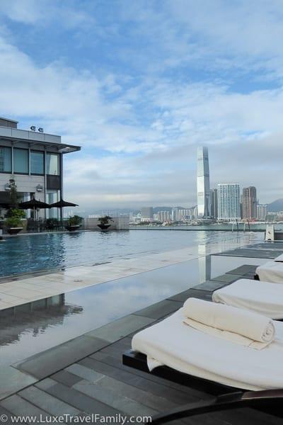 Pool Terrace Four Seasons Hong Kong