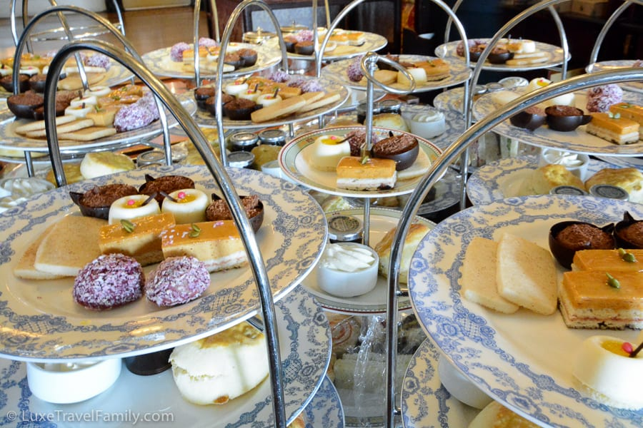 High tea Empress Hotel Victoria