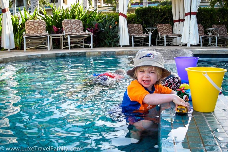Toddler pool Four Seasons Maui