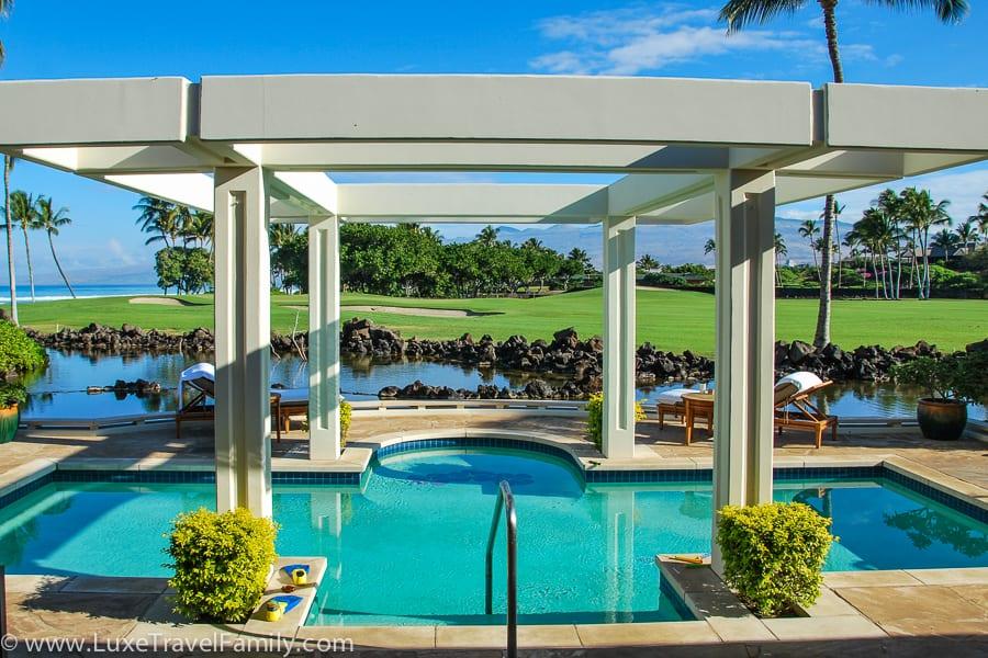 Private pool Mauna Lani Bay Hotel Bungalow