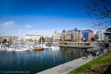 Beautiful Inner Harbour Victoria, B.C. Canada