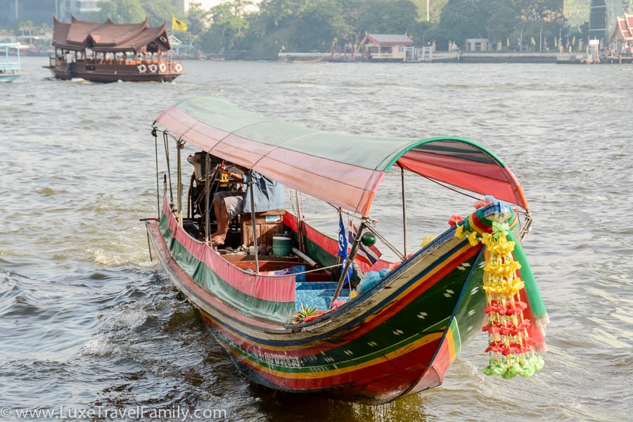 Explore Bangkok by Long Tail Boat