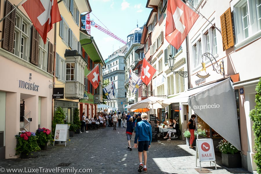 Things to do in Zurich with kids - explore Old Town