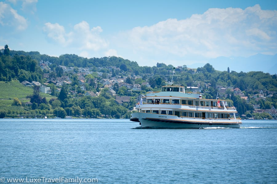things to do in Zurich with kids ride a ferry