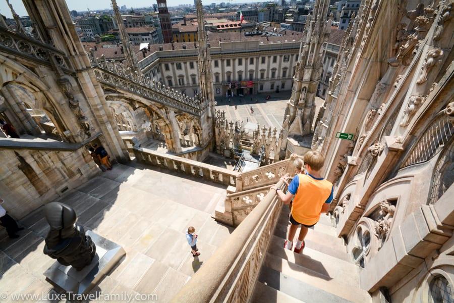 Duomo di Milano virtual trip to Italy