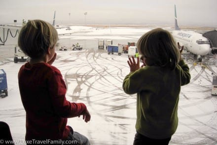 Top tips for flying with kids in Calgary