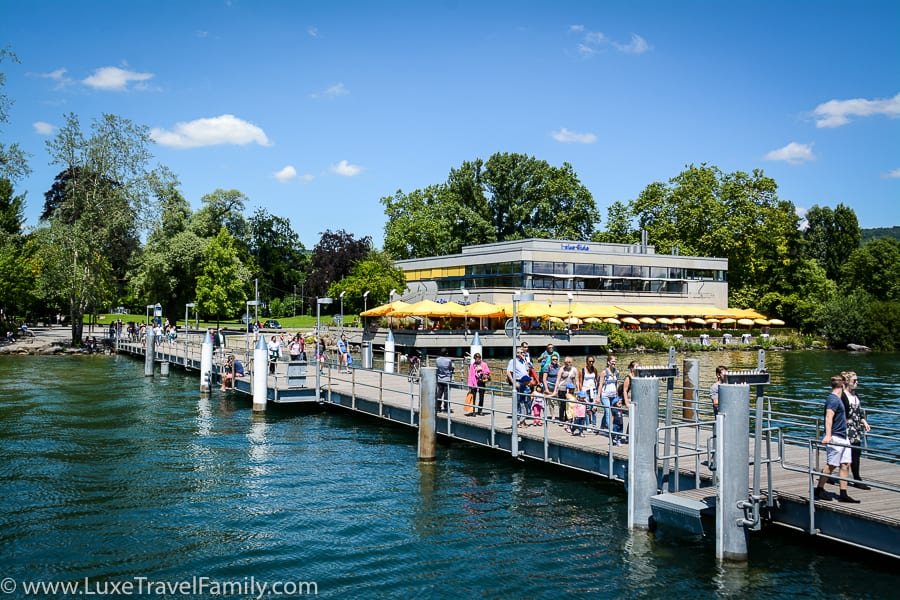 Lake Promenade things to do in Zurich with Kids