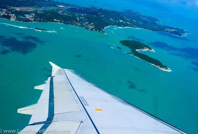 Bangkok Airways Economy Class View A319