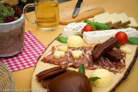 Cheese lunch Bregenzerwald Cheese Road