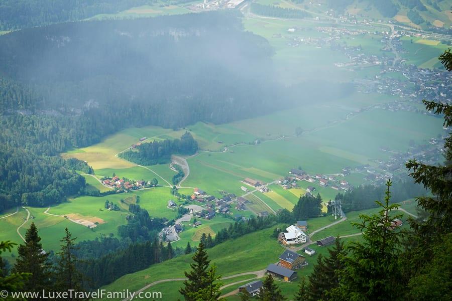 Bezau view Bregenzerwald Cheese Road
