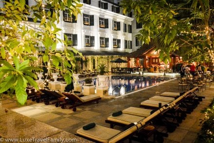 Hotel Metropole Hanoi Club Floor pool