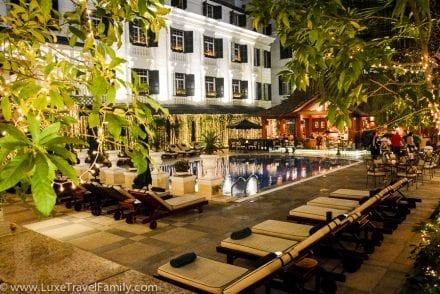 Hotel Metropole Hanoi Club Floor pool