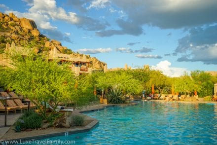Four Seasons Resort Scottsdale pool