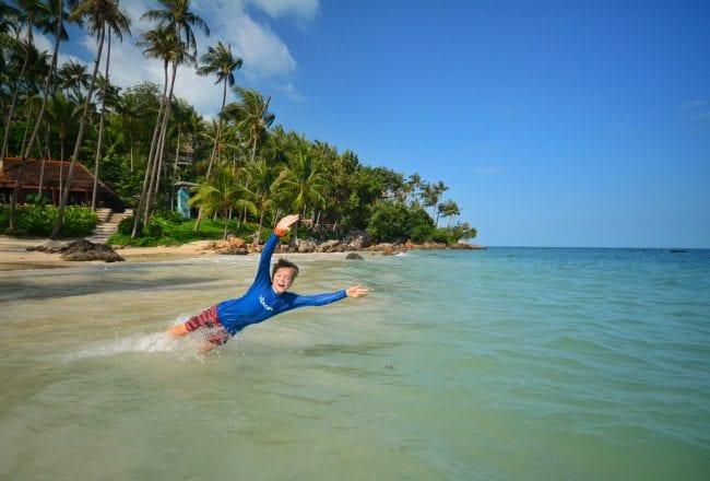 Koh Samui Warm Weather Beach Vacation