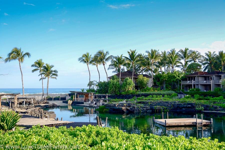 Four Seasons Resort Hualalai Warm Weather Beach Vacation