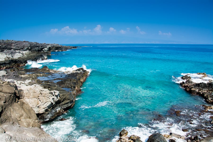 West Maui warm weather beach vacation