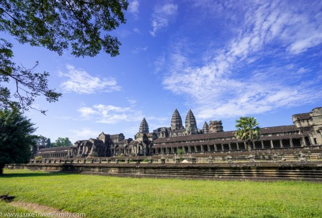 Angkor wat top family travel experiences