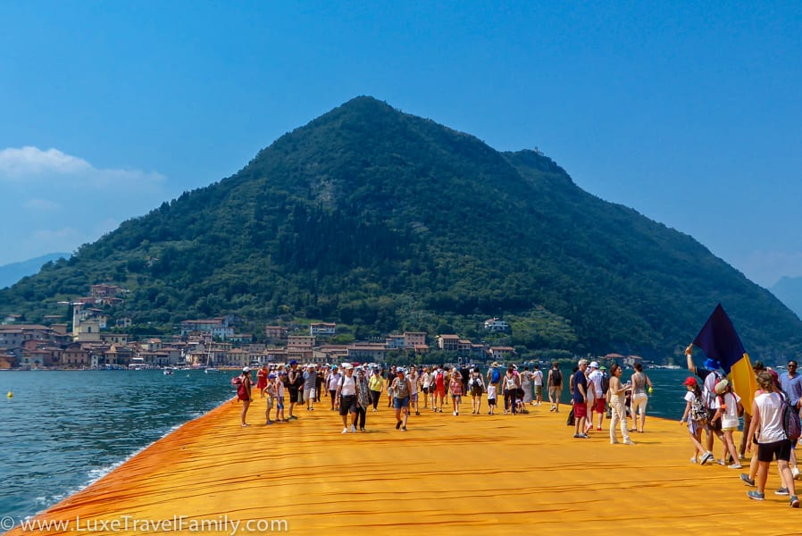 The Floating Piers Top Family Travel Experiences