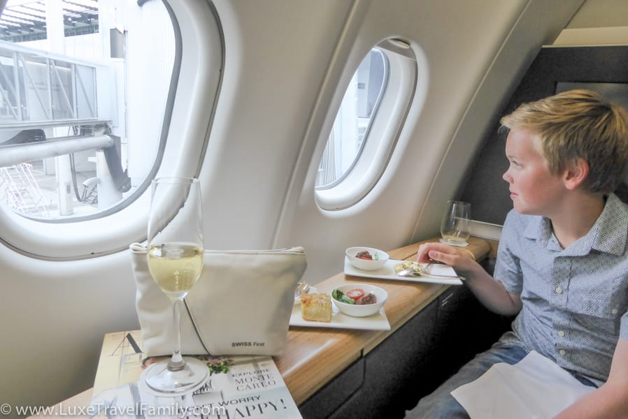 SWISS First class Top Family Travel experiences