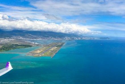 Hawaiian Airlines A330 First Class Honolulu Airport
