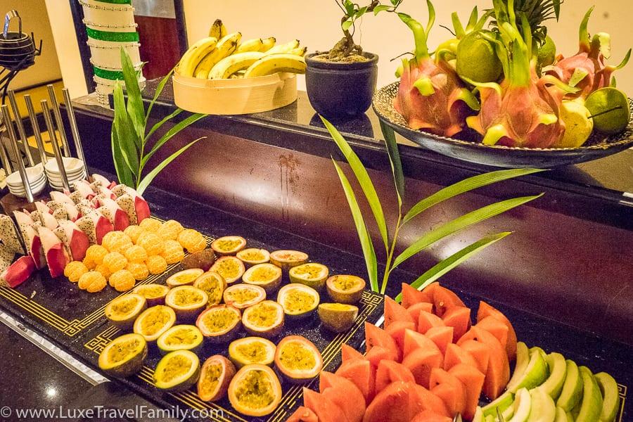 La Residence Hue hotel breakfast buffet