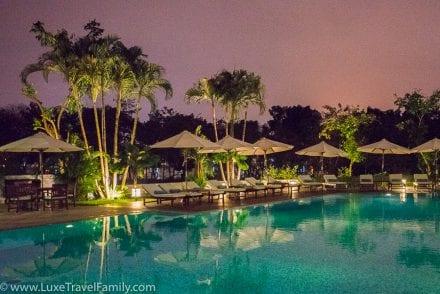 La Residence Hue Hotel outdoor pool