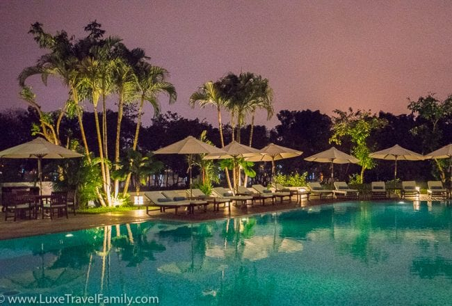 La Residence Hue Hotel outdoor pool