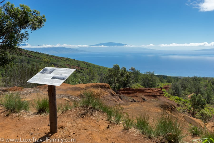 Stunning views Lanai Polaris off-road island views