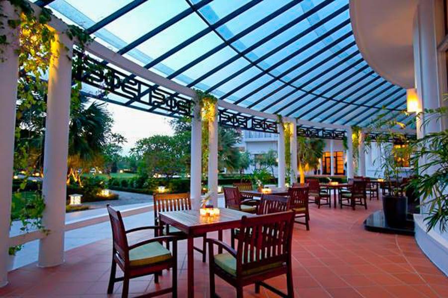 Le Gouverneur terrace La Residence Hue hotel