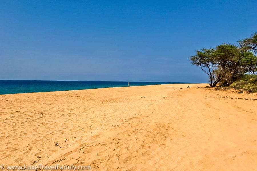 Polihua Beach on Lanai Hawaii
