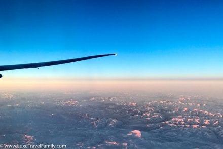 Cathay Pacific Boeing 777 Premium Economy View