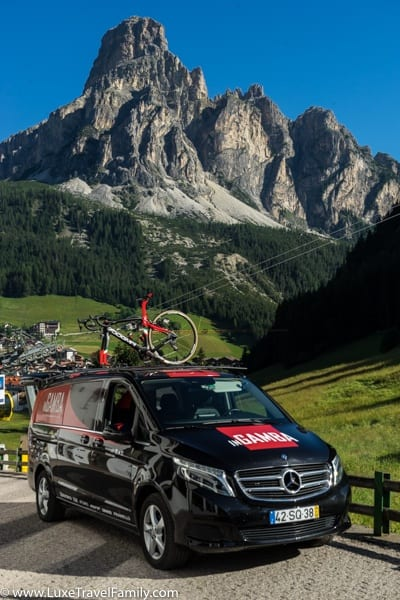 The Best Place for Road Cycling in Italy's Dolomite Mountains