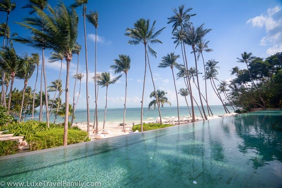 Four Seasons Koh Samui pool best beach products