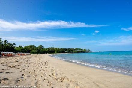 Hawaii best beach Mauna Kea Beach Hotel