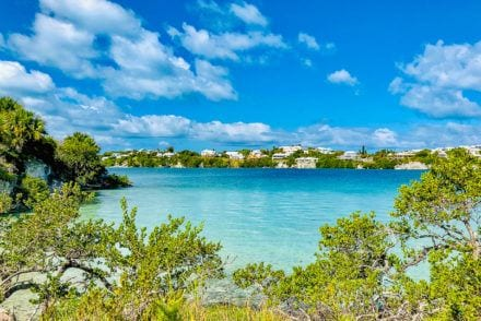 Visit Bermuda for Signature cocktails and clear ocean water