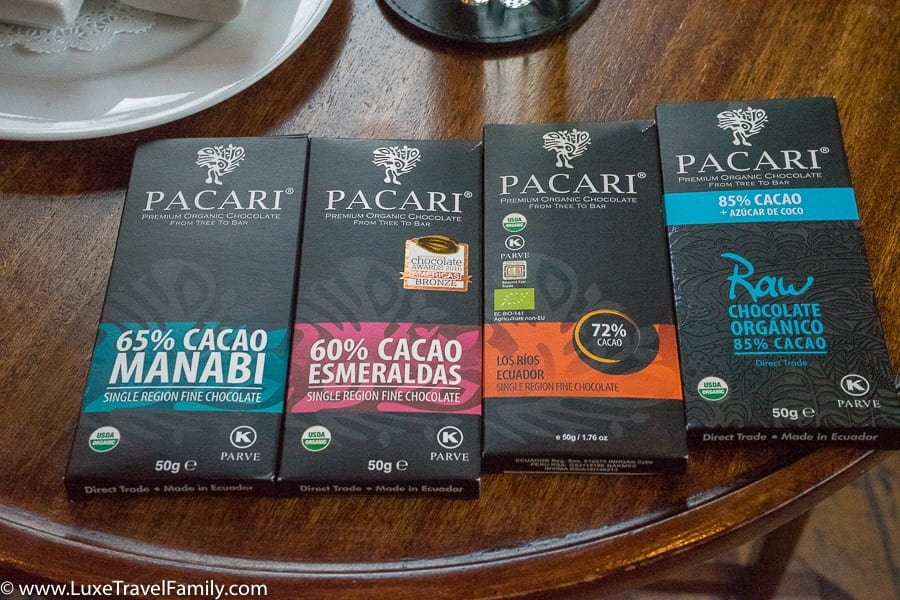 Pacari Chocolate Old Town Quito with Kids