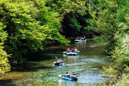 Voidomatis River Family Adventure in Zagori Greece
