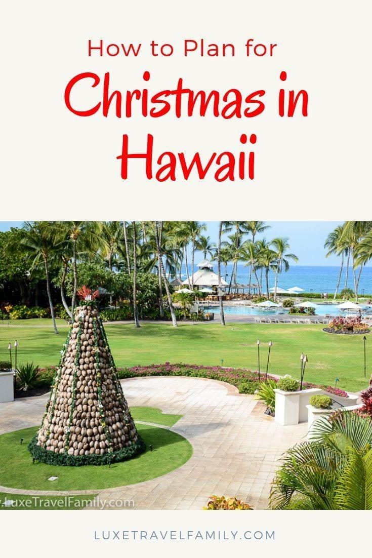 Spending Christmas in Hawaii?