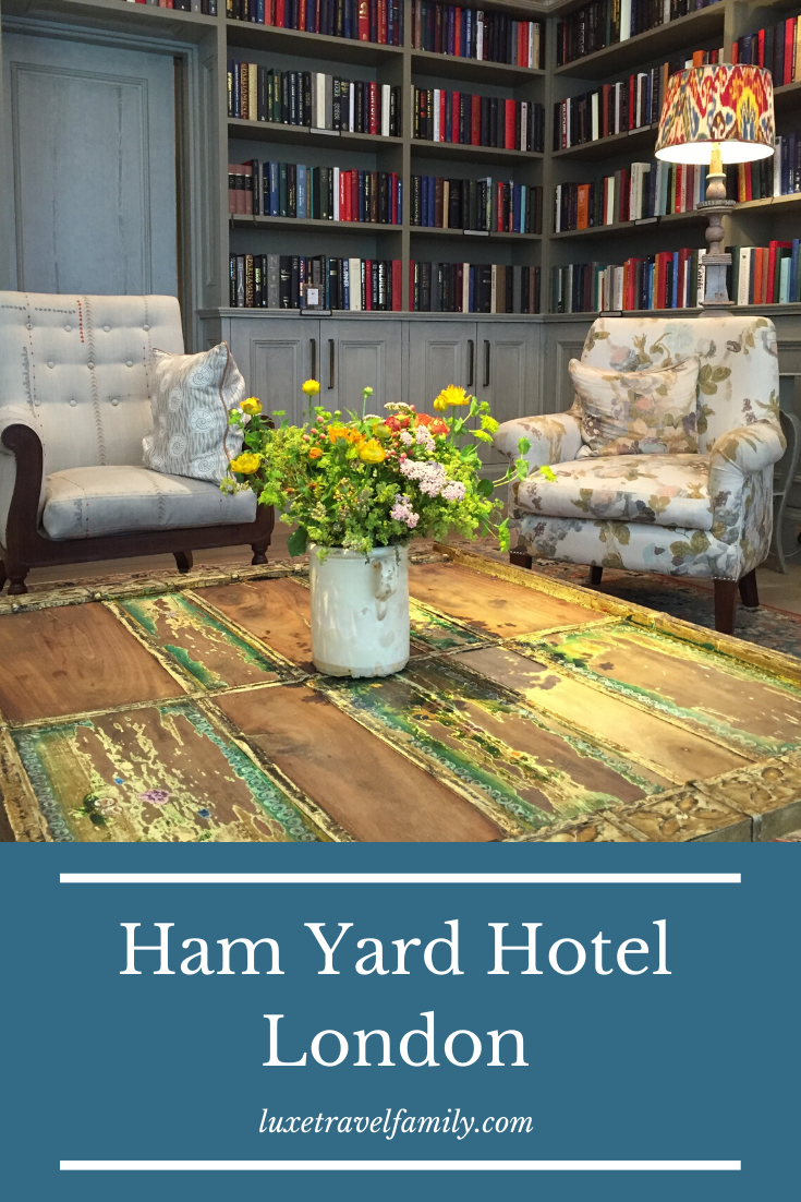 Review:  The Ham Yard Hotel London