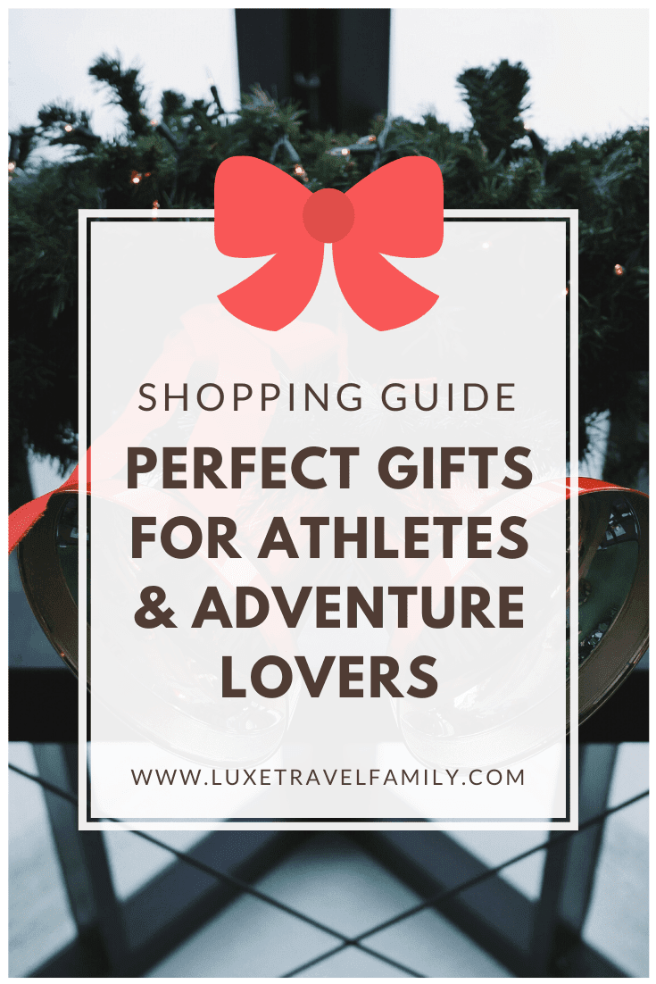 Gift Guide for Athletes & Adventure Lovers