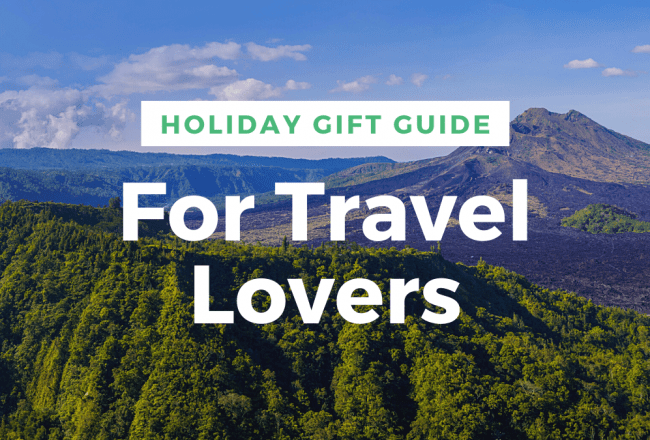 Holiday Gift Guide Travel Lovers